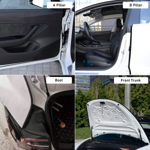 Noise Reduction Seals for Tesla Model 3 Doors & Boot