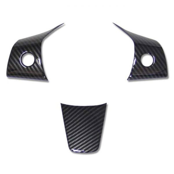Steering Wheel Decoration Covers - Carbon Fibre - Tesla Model 3