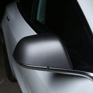 Tesla Model 3 Carbon Fibre Side Mirror Covers