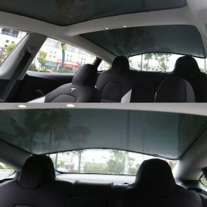 Glass Roof Sunshade for Tesla Model 3 New Zealand