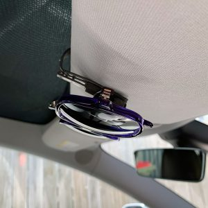 Tesla Car Visor Clip for Sunglasses
